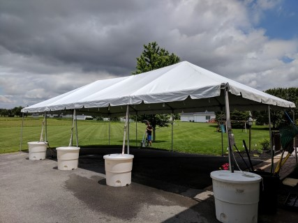 20' x 40' Frame Tent.